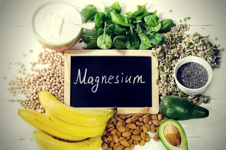 Products containing magnesium