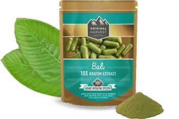 10x Kratom Extract Capsules by Original Harvest