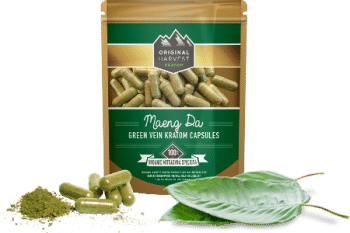 Green Vein Kratom Capsules by Original Harvest
