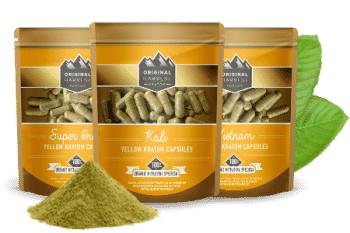Yellow Kratom Capsules by Original Harvest