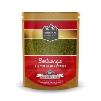 Original Harvest's Bentuangie Red Vein Kratom Powder