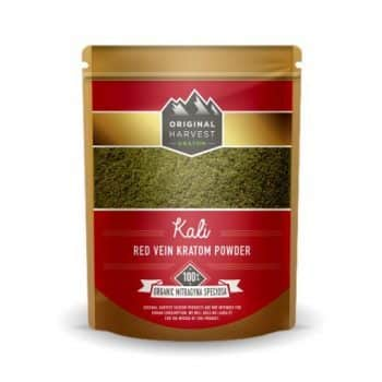 Original Harvest's Kali Red Vein Kratom Powder