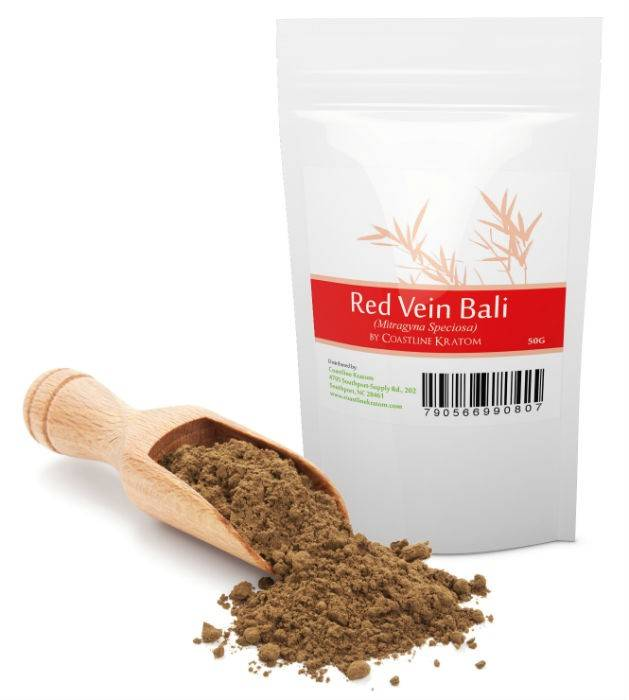 COASTLINE KRATOM RED VEIN BALI KRATOM